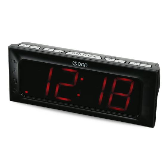 Onn amfm digital clock radio walmart onn amfm digital clock radio fandeluxe Gallery