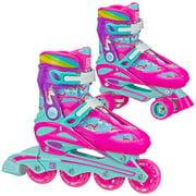 Roller Derby Girls Sprinter 2N1 Quad and Inline Skates Combo