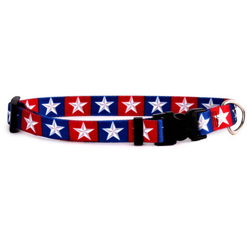Yellow Dog Design COL100C Colonial Stars Standard Collar - Cat