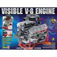 Revell 1:4 Scale Visible V-8 Engine Model Kit