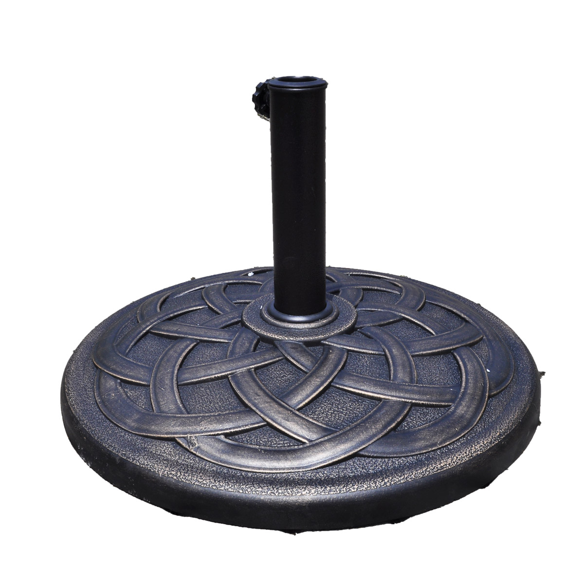 Charmant Costway 22u0027u0027 Round Umbrella Base Stand Market Patio Standing Outdoor Living  Heavy Duty