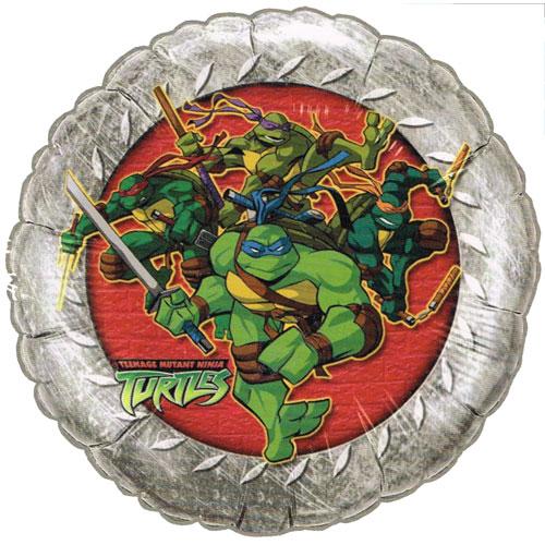 Teenage Mutant Ninja Turtles Vintage Foil Mylar Balloon (1ct)