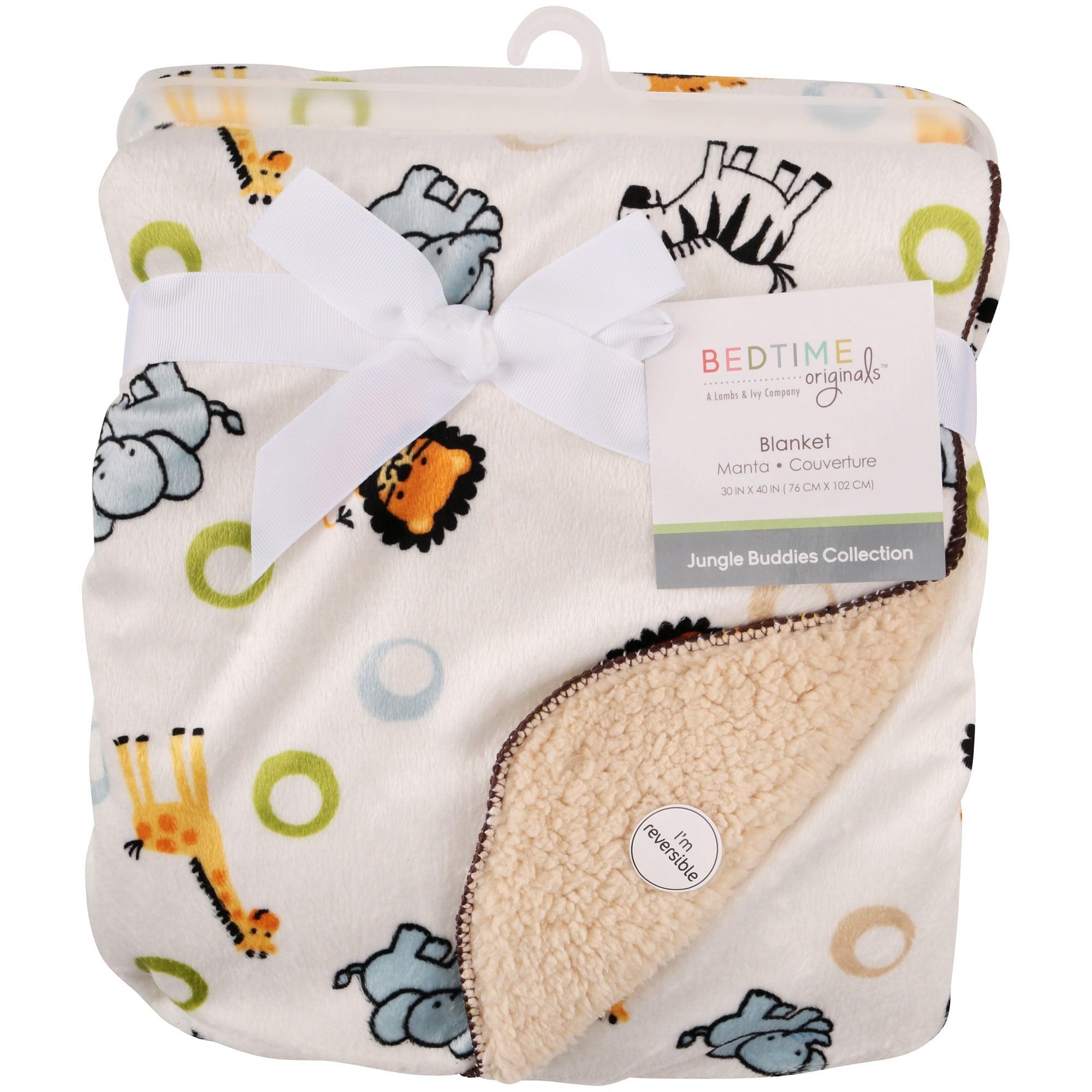 Bedtime Originals® Jungle Buddies Collection Blanket
