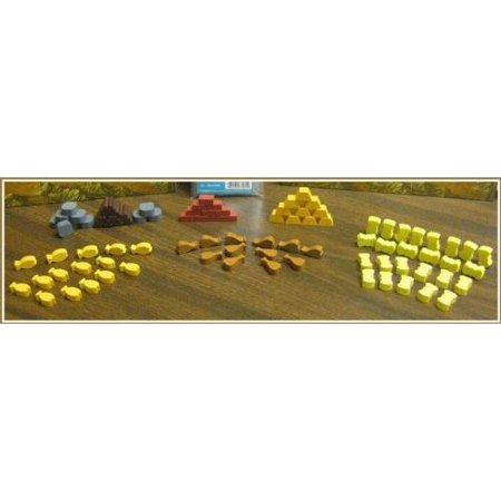 Stone Age Wooden Token Set Mayday Games