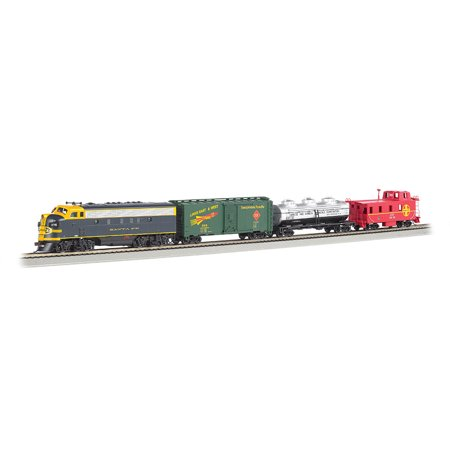 Bachmann Trains Thunder Chief  Ho Scale Ready To Run Electric Train Set With Sound Value Equipped Locomotive