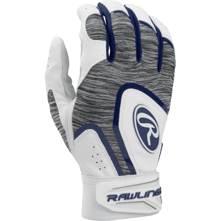 Rawlings Adult 5150 Batting Glove, Navy