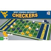 West Virginia Mountaineers NCAA Checkers Set