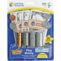 Pretend & Play, LRNLER2725, Play Money, 150, Multi