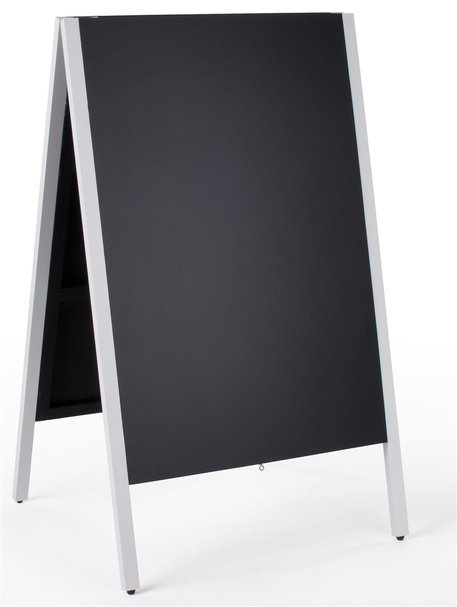 Displays2go 24 x 36 Chalkboard Sidewalk Sign, Double-Sided, Wooden A ...