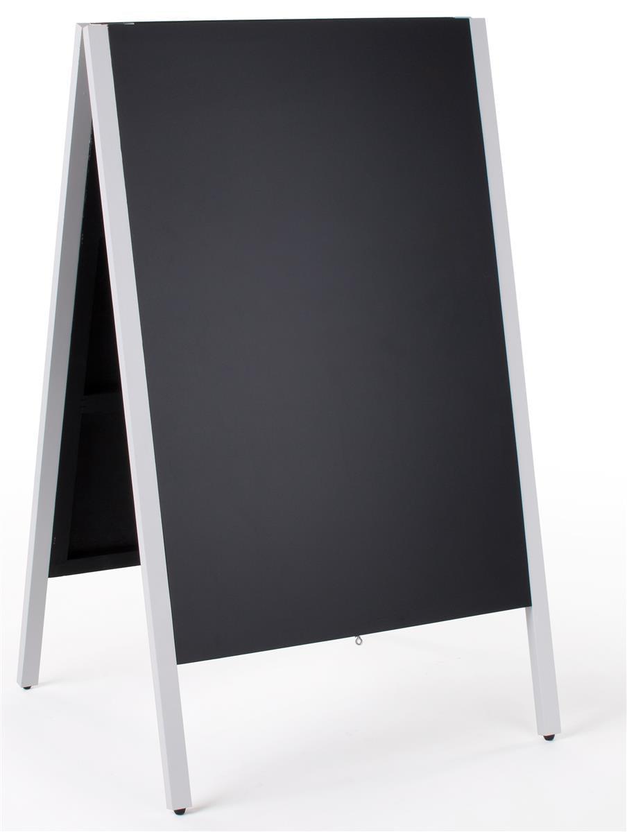 Displays2go 24 x 36 Chalkboard Sidewalk Sign, Double-Sided, Wooden A-Frame by Displays2go