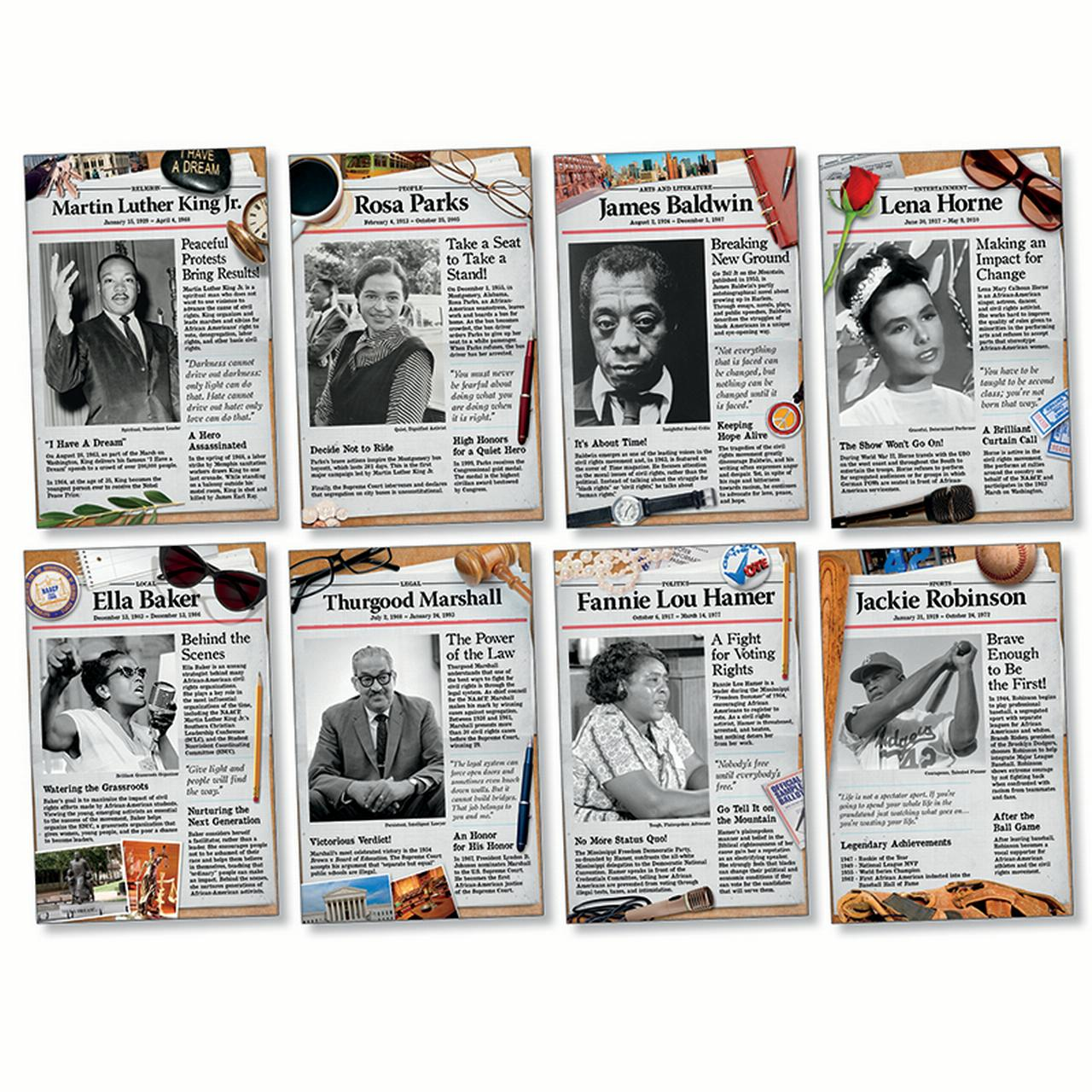 CIVIL RIGHTS PIONEERS BB SET