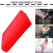 OUTAD Microfiber Absorbent Drying Bath Beach Towel Washcloth Swimwear Hair Towel