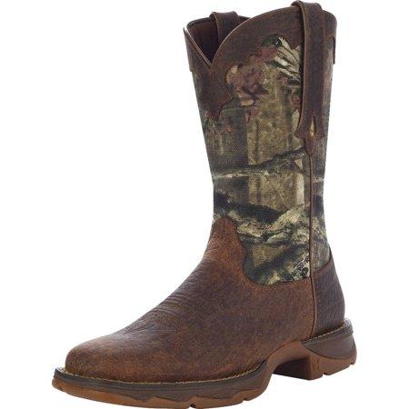 """Durango Western Boots Womens 10"""" Rebel Camo Rocker Heel Brown RD4406"""