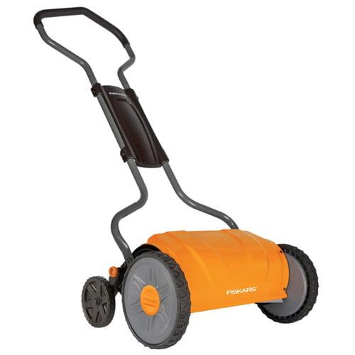 """Fiskars 17"""" StaySharp Reel Lawn Mower by Fiskars Brands Inc"""