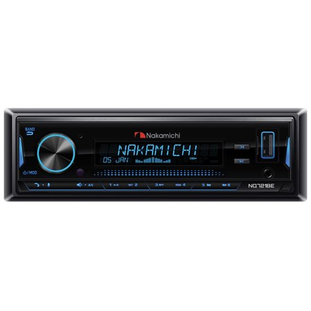 Nakamichi NM-NQ721BE NQ721BE Single-Din In-Dash Mechless Digital Media Receiver With Bluetooth