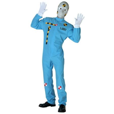 Plus Size Crash Test Dummy Costume