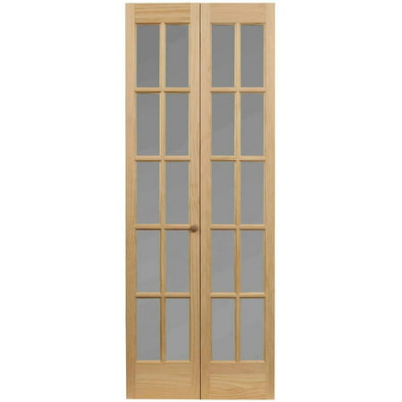 Awc 627 Traditional Divided Frosted Glass 24 Quot X 80 Quot Bifold