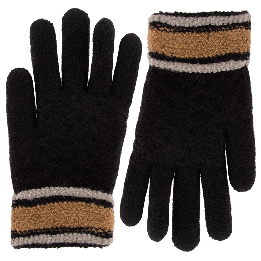 Classic Fashion Womens Winter Gloves For Cold Weather, Ladies Soft Warm Sherpa Fleece... by