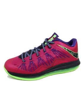 online retailer b183c 8e3bd Product Image Nike Men s Air Max Lebron X 10 Low Rasberry Red Blueprint  Purple-Plum-
