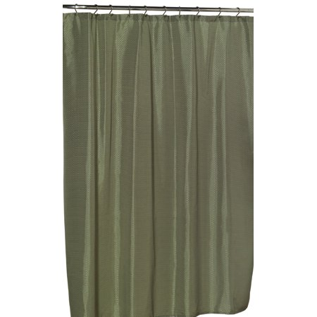 Royal Bath Lauren Dobby Fabric Shower Curtain 100 Polyester Size 70X72 Color Sage