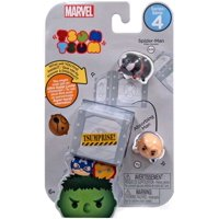 Marvel Tsum Tsum Series 4 Spider-Man (Miles Morales) & Absorbing Man Minifigure 3-Pack