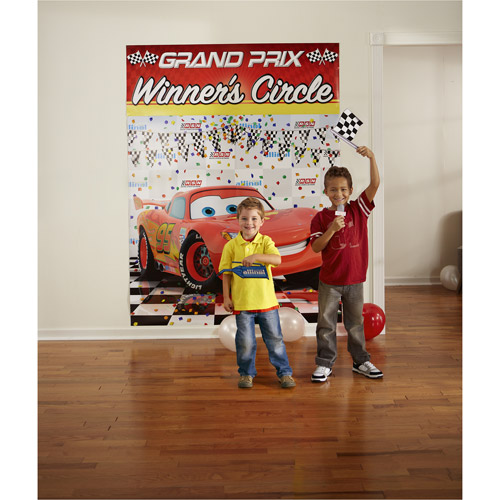 Disney Cars Party Backdrop and Props Kit