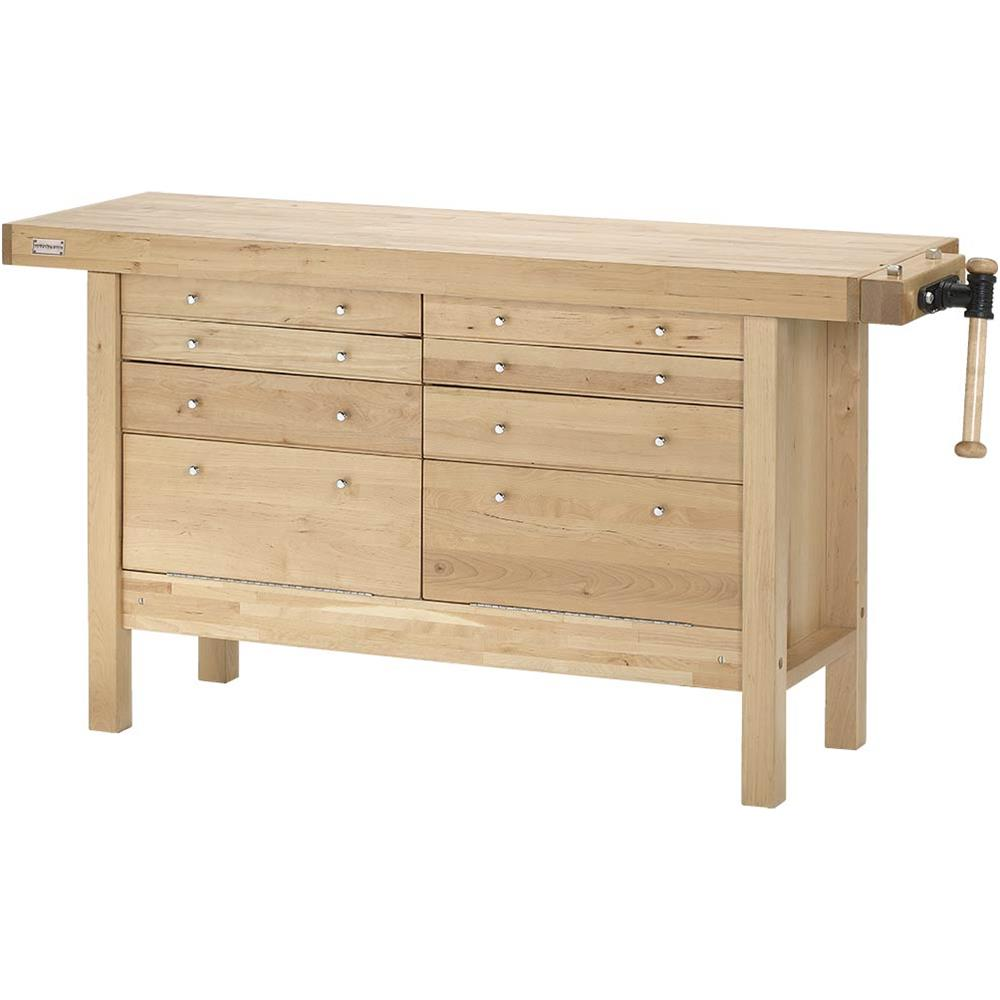 "Grizzly H7724 60"" Birch Workbench with Drawers"
