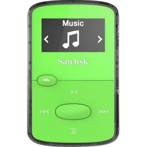 8GB CLIP JAM MP3 PLAYER GREEN