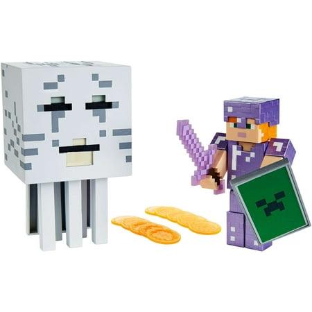 Minecraft Alex vs Fire-breathing Ghast Battle In a Box](Minecraft Valentine's Day Box)