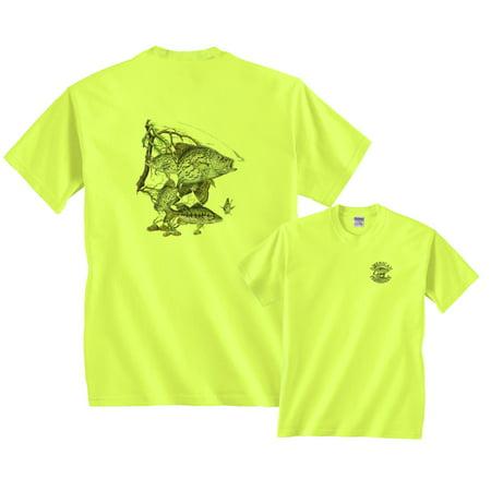 - Crappie Fish T-Shirt fishing