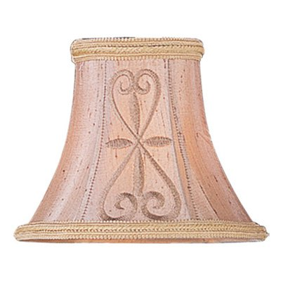 Livex S331 Hand Embroidered Silk Clip Chandelier Shade