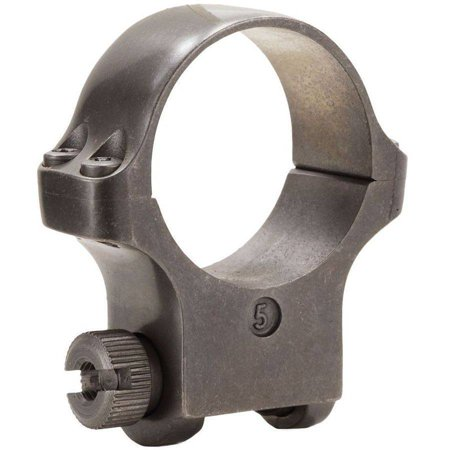 Ruger 90316 Clam Pack Single Ring, High, 30mm Diameter, Target Gray