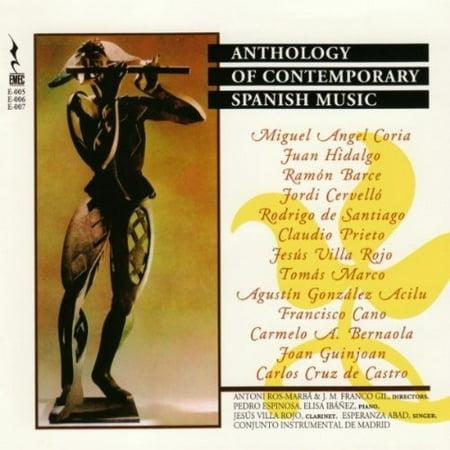 ANTHOLOGY OF CONTEMPORARY SPANISH MUSIC