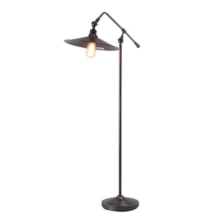 48 Inch Rapid Start Lamps - Decmode Contemporary 48 X 30 Inch Reversible Floor Lamp