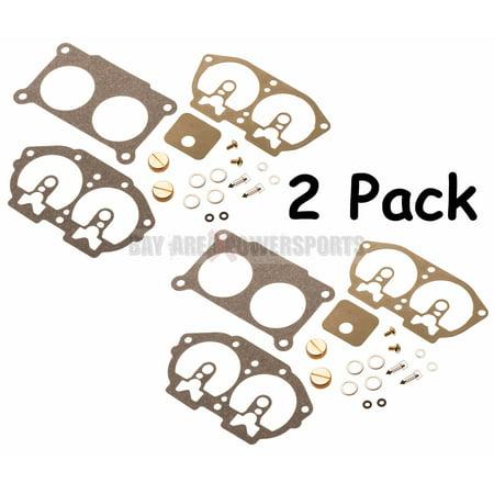 Rebuilding Pack - Yamaha Outboard Twin Pack Carburetor Carb Rebuild Repair Kit V4 115 130 HP 86-95