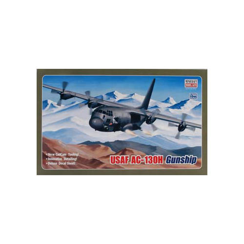 Minicraft 14537 1/144 USAF C130 Hercules Gunship Multi-Co...