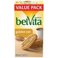 belVita Golden Oat Breakfast Biscuits, 12 Packs