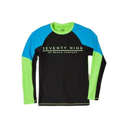 OFFCORSS - OFFCORSS Big Boy Long Sleeve Surf Rashguard Swimsuit Shirt  a394d935a68