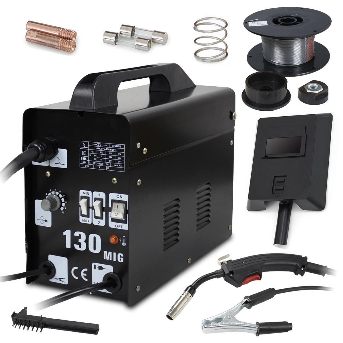 Gizmo Supply MIG-130 Flux Core Wire Welder Machine 115V