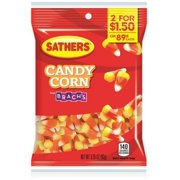 3 Pack - Sathers Candy Corn From Brach's 12 pack (3.25 oz per pack)