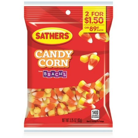 2 Pack - Sathers Candy Corn From Brach's 12 pack (3.25 oz per - Sathers Jewelry