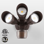 Motion activated outdoor lighting leonlite 3 head motion activated led outdoor security light 3 work modes 30w aloadofball Image collections
