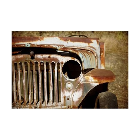 Jeep Willys Overland Print Wall Art By Jessica Rogers