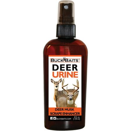 Buck Baits Deer Musk Scrape Enhancer | Create Mock Scrapes ATA approved 4 (Best Mock Scrape Products)