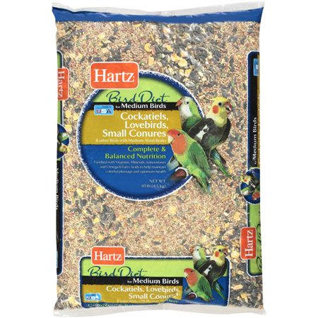 Hartz: Medium Bird Diet Food, 10 Lb
