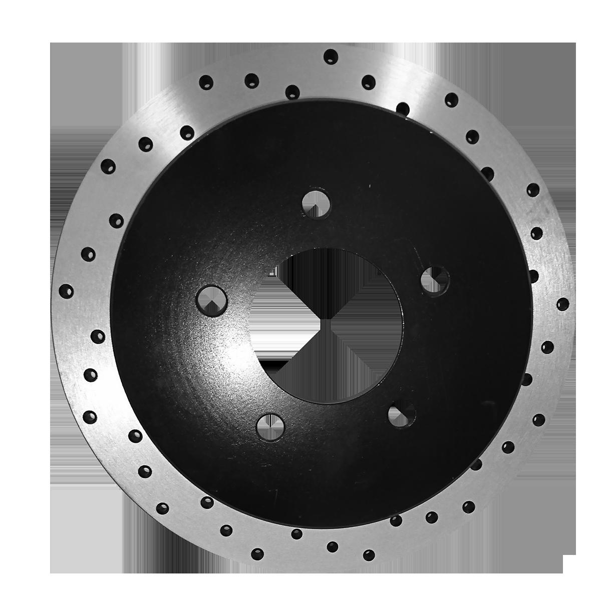 [Rear E-Coat Drilled Brake Rotors Ceramic Pads] Fit 14-16 Nissan 370Z SPC - image 2 de 2