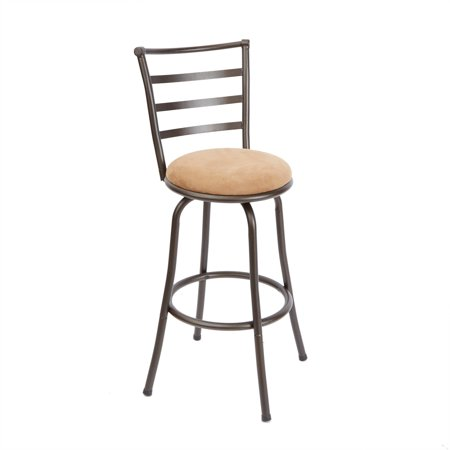 Graphite Finish Bar - Mainstays Adjustable-Height Barstool, Hammered Bronze Finish, Multiple Colors