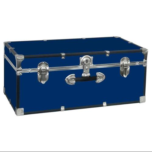 Collegiate 30 in. Footlocker w Handle in Blue