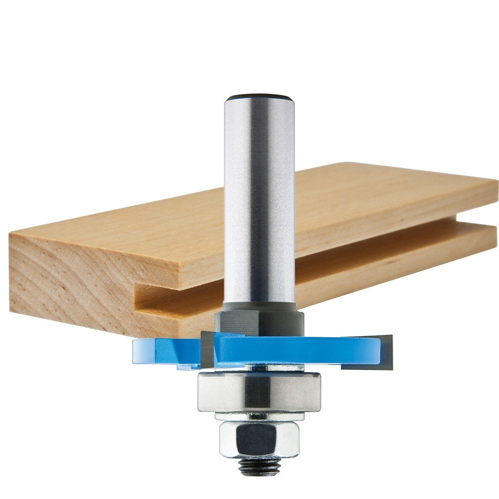 """1/8"""" 3 Wing Slotting Cutter, K10 and K20 grade carbide fo..."""