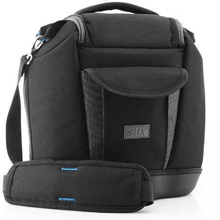 Image of Deluxe Camera Bag by USA Gear - Works With Cameras from Canon, Nikon, Pentax, Fujifilm, Sony and Many Other DSLR, Mirrorless & Point and Shoot Cameras with Zoom Lenses and Accessories